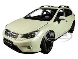 2014 Subaru XV Sunroof Crystal White Pearl 1/18 Diecast Model Car SunStar 5572