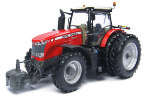 Massey Ferguson 8737 Dual Wheels Tractor 1/32 Diecast Model Universal Hobbies UH4261