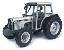 Massey Ferguson 399 Silver Edition Tractor 50th Anniversary Tractor Production Coventry Limited Edition 1500 pieces Worldwide 1/32 Diecast Model Universal Hobbies UH4878