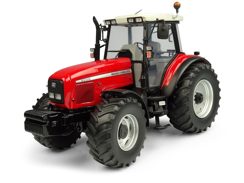 Massey Ferguson 8220 Xtra Tractor 1/32 Diecast Model Universal Hobbies UH5331
