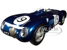 Jaguar C-Type #19 Jimmy Stewart Goodwood Member's Meeting 1954 Limited Edition 1500 pieces Worldwide 1/18 Diecast Model Car CMC 192