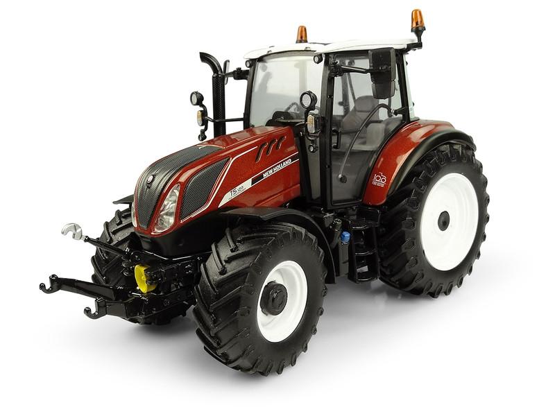 New Holland T5.120 Fiat Centenario Trattori Tractor 1/32 Diecast Model Universal Hobbies UH5362