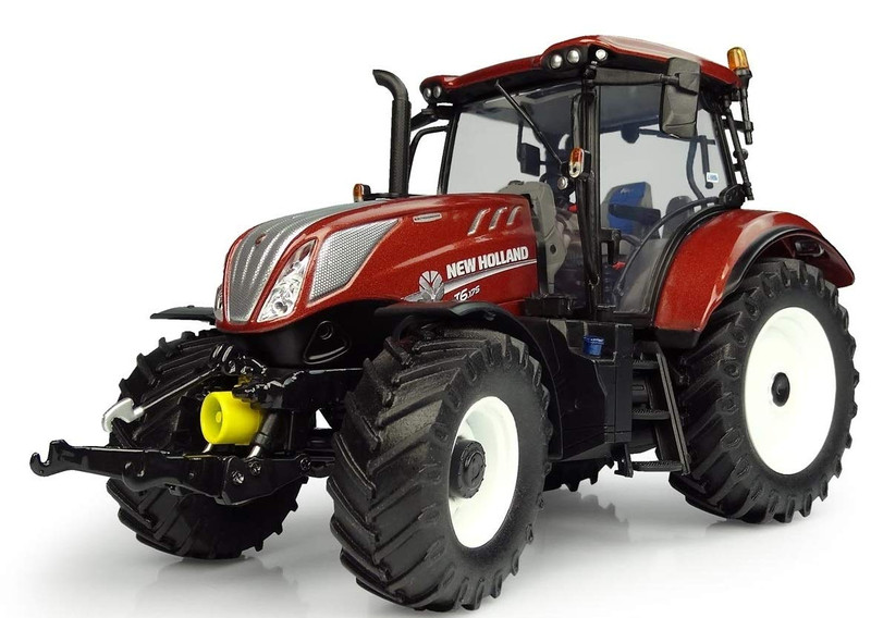 New Holland T6.175 Terracotta Edition Tractor Limited Edition 1000 pieces Worldwide 1/32 Diecast Model Universal Hobbies UH5375