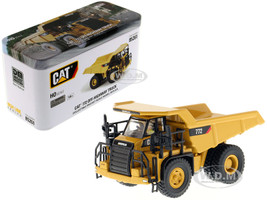 CAT Caterpillar 772 Off-Highway Dump Truck Operator High Line Series 1/87 HO Scale Diecast Model Diecast Masters 85261