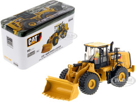 CAT Caterpillar 966M Wheel Loader Operator High Line Series 1/87 HO Scale Diecast Model Diecast Masters 85948