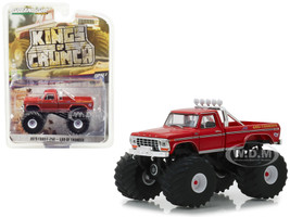 1979 Ford F-250 Monster Truck God of Thunder Kings of Crunch Series 3 1/64 Diecast Model Car Greenlight 49030 E