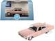 1961 Cadillac Sedan DeVille Metallic Pink 1/87 HO Scale Diecast Model Car Oxford Diecast 87CSD61001