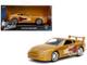 Slap Jack's Toyota Supra Gold Fast & Furious Movie 1/32 Diecast Model Car Jada 99542