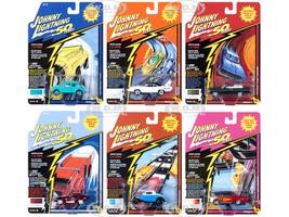 Classic Gold 2019 Release 1 Set B 6 Cars Johnny Lightning 50th Anniversary 1/64 Diecast Models Johnny Lightning JLCG018 B