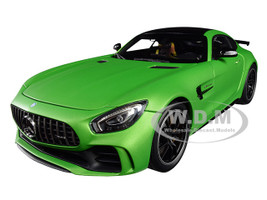 2017 Mercedes AMG GT R AMG Green Hell Magno Matt 1/18 Diecast Model Car Almost Real 820701