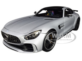 2017 Mercedes AMG GT R Iridium Silver 1/18 Diecast Model Car Almost Real 820702