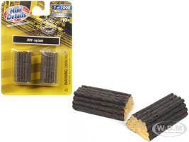 Log Loads 2 piece Accessory Set 1/87 HO Scale Classic Metal Works 20230