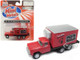 1960 Ford Box Reefer Refrigerated Truck Carling Black Label Beer Red 1/87 HO Scale Model Classic Metal Works 30508
