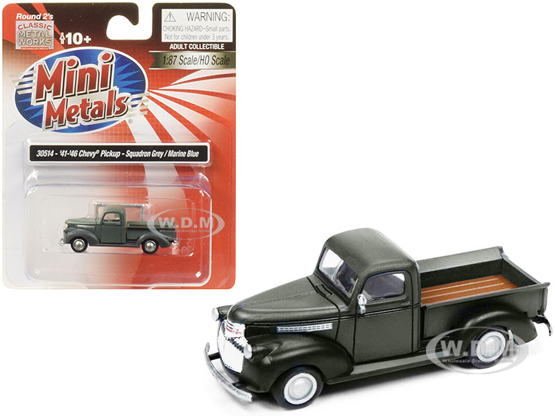 1941-1946 Chevrolet Pickup Truck 1/87 (HO) Scale Model Car by Classic Metal  Works