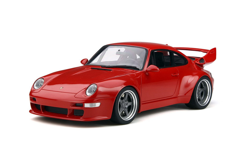 Porsche 993 Gunther Werks 400R Concept Red 1/18 Model Car GT Spirit GT210