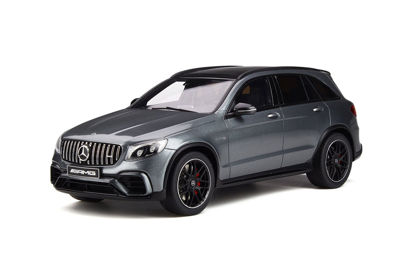 Mercedes AMG GLC 63 S Selenite Gray Limited Edition 999 pieces Worldwide 1/18 Model Car GT Spirit GT231