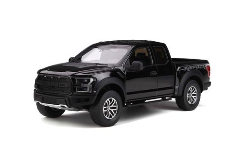 Ford Raptor F150 Pickup Truck Shadow Black Limited Edition 500 pieces Worldwide 1/18 Model Car GT Spirit GT781