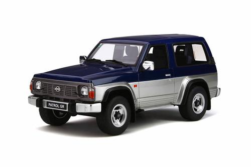 Nissan Patrol GR SLX 4x4 Blue Silver Limited Edition 1500 pieces Worldwide 1/18 Model Car Otto Mobile OT265