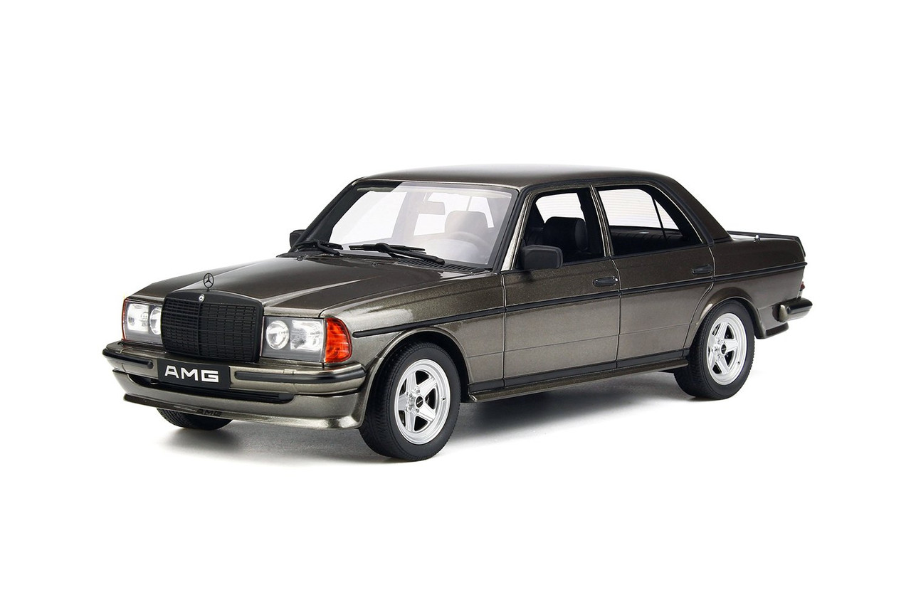 Mercedes Benz W123 AMG 280 Anthracite Gray Limited Edition to 1,500 pieces  Worldwide 1/18 Model Car by Otto Mobile