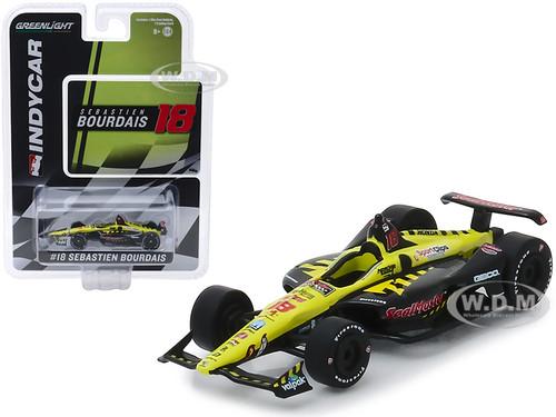 Honda Dallara Indy Car #18 Sebastien Bourdais SealMaster Dale Coyne Racing with Vasser Sullivan 1/64 Diecast Model Car Greenlight 10847