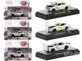 Auto Japan Nissan Dastun 3 Cars Set Limited Edition 6000 pieces Worldwide 1/64 Diecast Models M2 Machines 32500-S64