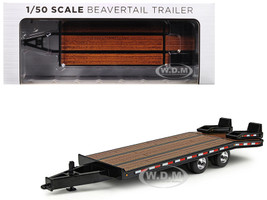 Beavertail Trailer Black 1/50 Diecast Model First Gear 50-3228
