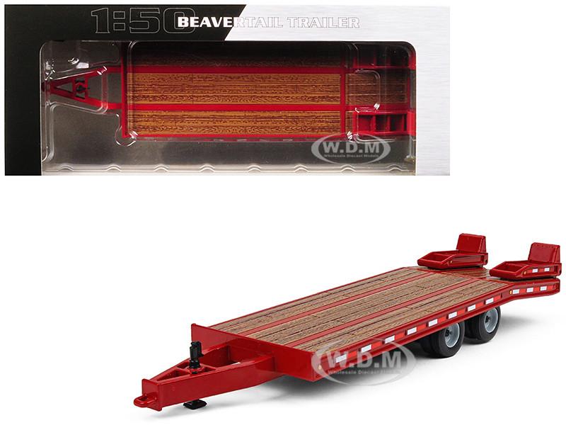 Beavertail Trailer Red 1/50 Diecast Model First Gear 50-3350