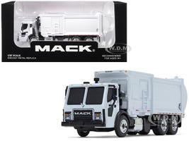 Mack LR McNeilus ZR Side Loader Refuse Garbage Truck White 1/87 Diecast Model First Gear 80-0332