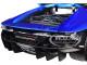 Lamborghini Centenario Metallic Blue Black Top 1/18 Diecast Model Car Maisto 31386