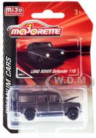 Land Rover Defender 110 Matt Gray Premium Cars 1/60 Diecast Model Car Majorette 3052MJ5