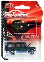 Land Rover Defender 110 Metallic Green Premium Cars 1/60 Diecast Model Car Majorette 3052MJ6