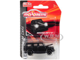 Mercedes AMG G 63 Matt Black Premium Cars 1/61 Diecast Model Car Majorette 3052MJ7