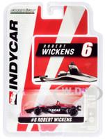 Honda Dallara Indy Car #6 Robert Wickens Lucas Oil Schmidt Peterson Motorsports 1/64 Diecast Model Car Greenlight 10826
