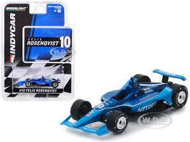 Honda Dallara Indy Car #10 Felix Rosenqvist NTT Data Chip Ganassi Racing 1/64 Diecast Model Car Greenlight 10838