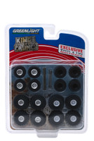 Monster Trucks Wheel Tire Multipack Kings of Crunch Set 24 pieces 1/64 Greenlight 13169