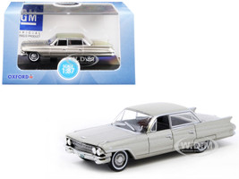 1961 Cadillac Sedan DeVille Aspen Gold Metallic 1/87 HO Scale Diecast Model Car Oxford Diecast 87CSD61002