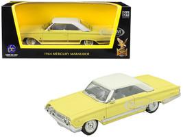 1964 Mercury Marauder Yellow White Top 1/43 Diecast Model Car Road Signature 94250