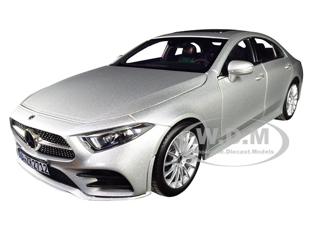 2018 Mercedes Benz CLS Class Silver 1/18 Diecast Model Car Norev 183489