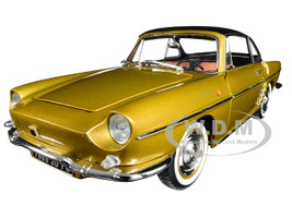 1959 Renault Floride Convertible Metallic Bahamas Yellow Gold 1/18 Diecast Model Car Norev 185182