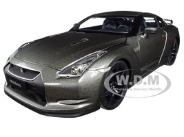 2008 Nissan GTR R-35 Metallic Dark Gray 1/18 Diecast Model Car Norev 188053