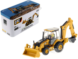 CAT Caterpillar 450E Backhoe Loader Operator High Line Series 1/87 HO Scale Diecast Model Diecast Masters 85263