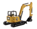 CAT Caterpillar 309 CR Next Generation Mini Hydraulic Excavator Work Tools Operator High Line Series 1/50 Diecast Model Diecast Masters 85592