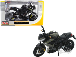 Benelli TNT 1130 Century Racer Gray 1/12 Diecast Motorcycle Model Maisto 31179