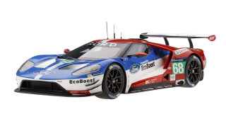 Ford GT LMGTE PRO #68 Sebastien Bourdais Joey Hand Dirk Muller Winners Le Mans 24 Hours 2016 Ford Chip Ganassi Team USA 1/18 Model Car Top Speed TS0031
