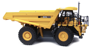 Komatsu HD605 Off Highway Dump Truck The Experts Line 1/50 Diecast Model Universal Hobbies UH8009