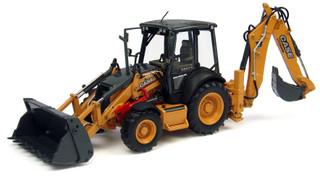 Case 580ST Backhoe Loader 1/50 Diecast Model Universal Hobbies UH8079