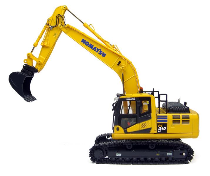 Komatsu PC210LC-10 Tracked Excavator 1/50 Diecast Model Universal Hobbies UH8093