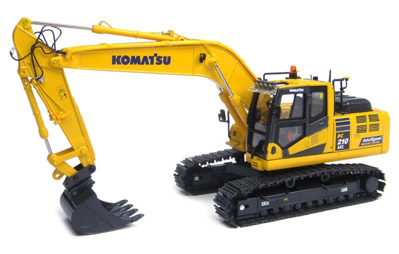 Komatsu PC210LCi-10 Tracked Excavator Intelligent Machine Control IMC Edition 1/50 Diecast Model Universal Hobbies UH8104