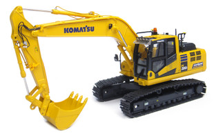 Komatsu PC200i-10 Tracked Excavator Intelligent Machine Control IMC Japanese Edition 1/50 Diecast Model Universal Hobbies UH8107