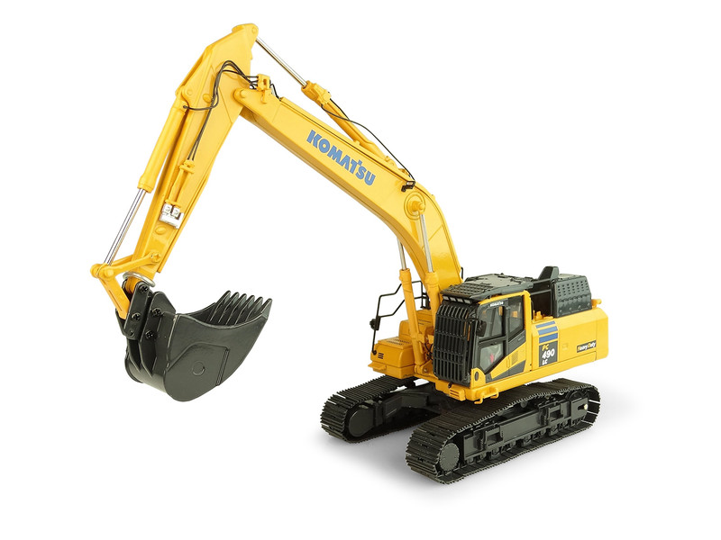 Komatsu PC490LC-11 Heavy Duty Tracked Excavator 1/50 Diecast Model Universal Hobbies UH8120